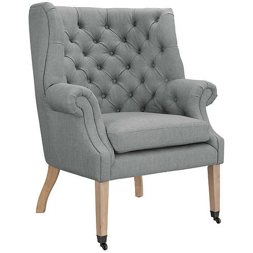 Chart Upholstered Fabric Lounge Chair