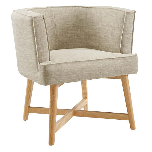 Anders Upholstered Fabric Accent Chair