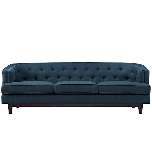 Coast Upholstered Fabric Sofa