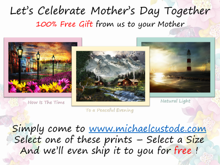 Let's Celebrate Mother's Day Together