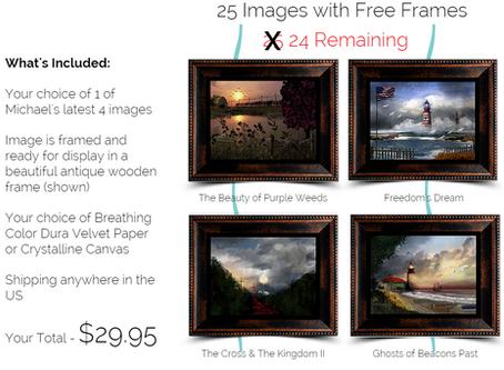 Special Offer - Free Frame