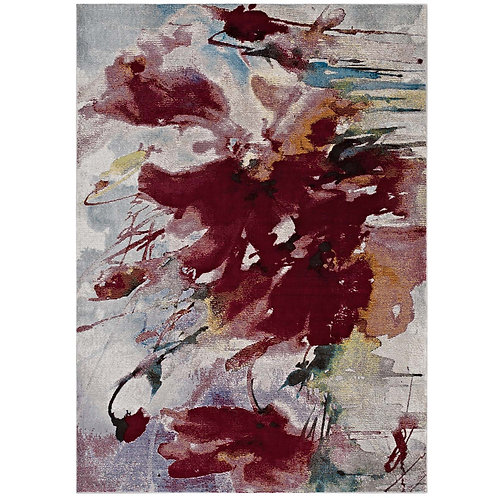 Blume Abstract Floral 4x6 Area Rug