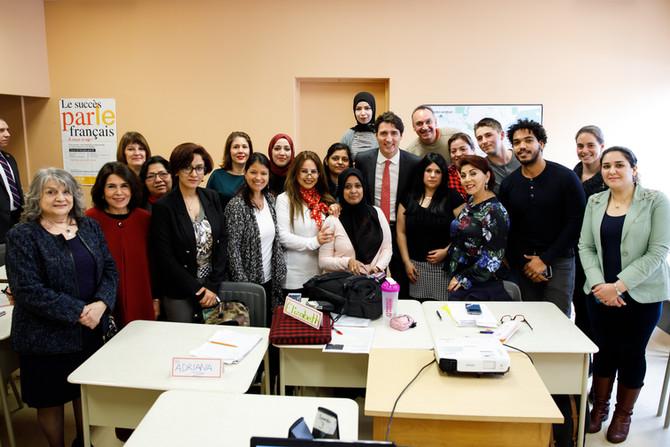 Visite du très honorable Justin Trudeau à Petites-Mains