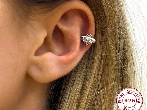 Bee Ear Cuffs - sterling silver or gold