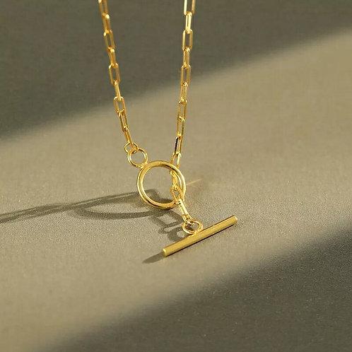 Tahlia T Bar NecklaceBracelet - Silver or Gold