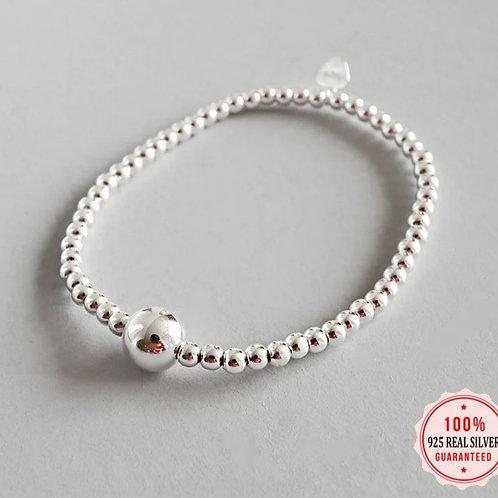 Valencia Sterling Silver Stretch Bracelet