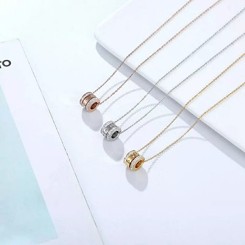 Maia Necklace - silver, gold or rose
