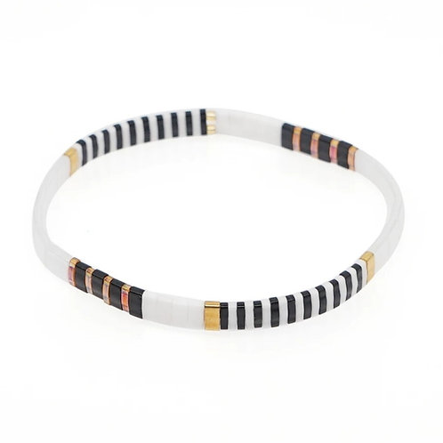 Black & White Tile Bracelet