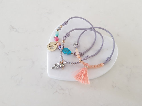 Stretchy Bright Bracelet set