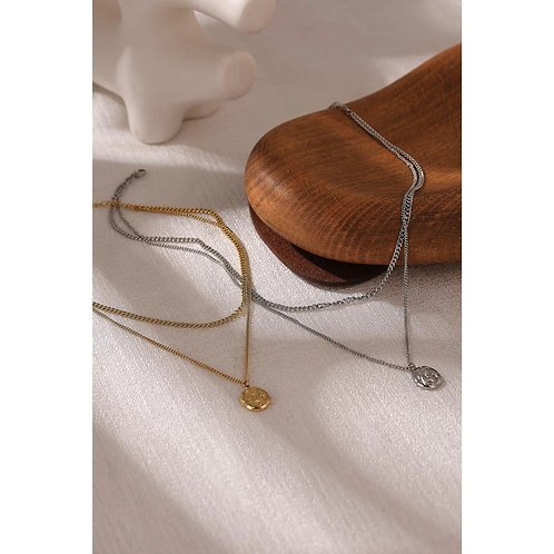 Laura Layering Necklace - Silver or Gold