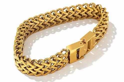 Sienna  Chain Link Bracelet - Gold, silver or Rose