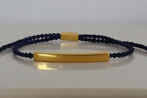 MisG Braided Bracelet - Gold plated stainless steel