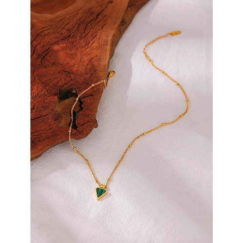 Tanice Turquoise Pendant Necklace