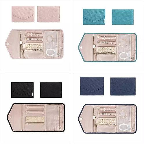 Jewellery Travel BagOrganiser- Pink, Navy or Black
