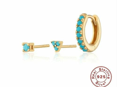 Odette Earring Set - Gold