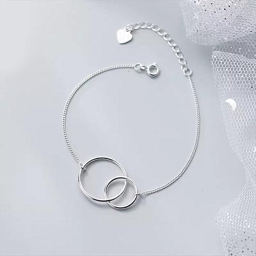 Eternity Sterling Silver Bracelet