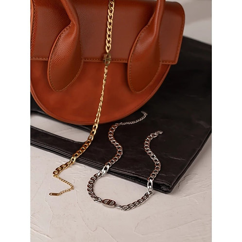 Bria Chunky Chain Necklace - Gold or Silver