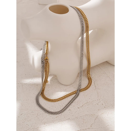 Florence Necklace - silver or gold