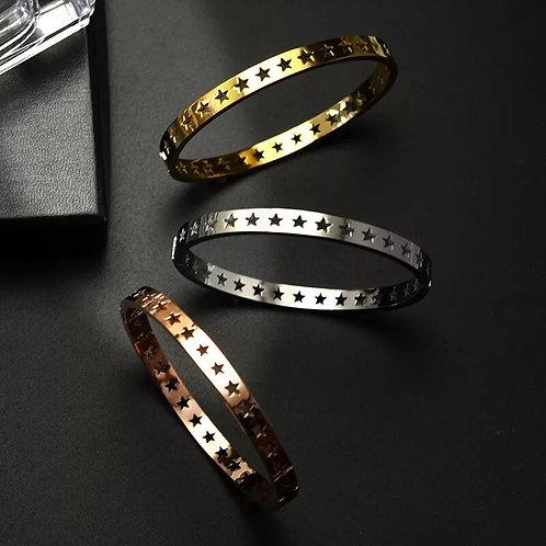 Star Bracelet Stainless Steel - Gold, Silver or Rose Gold