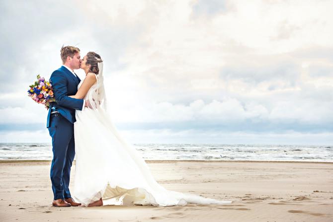 Bruiloft in Egmond aan Zee