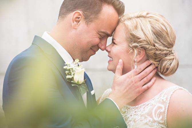 Stijvolle bruiloft bij Villa Clementine in Purmerend