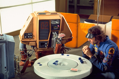 Pneumatic arms used on drones in Silent Running