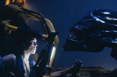 Ripley vs the Alien Queen