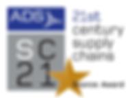 SC21 (21st century supply chains) bronze award by ADS