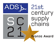 SC21 (21st century supply chains) bronze award by ADS
