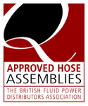 Approved Hose assembly maker by BFPDA (British FLuid Power Distributors Association)