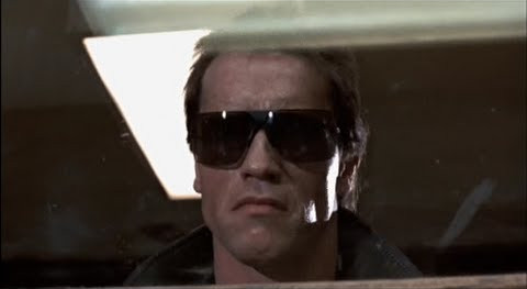 The Terminator played by Arnold Schwarzeneggar