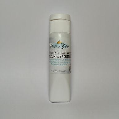 Crema dental natural de Própolis, Miel y Aceite Coco