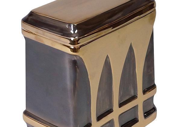 Golden Sepia Urn