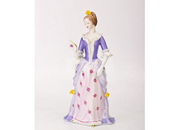 Woman with Mirror Figurine
