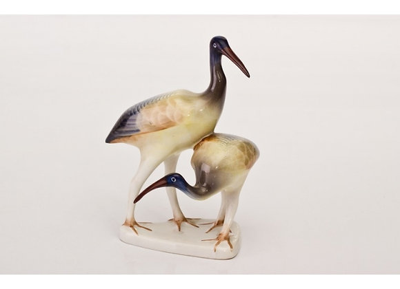 Heron Pair Figurine