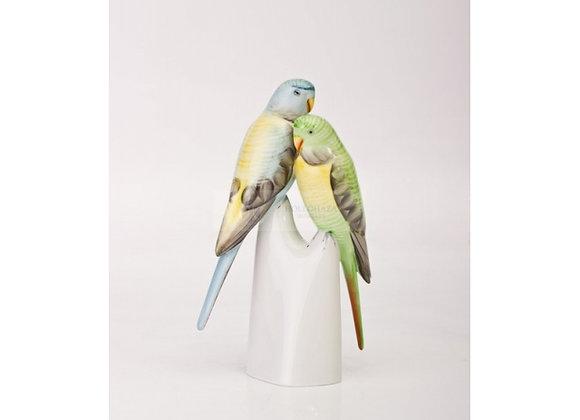 Parrot Pair Figurine