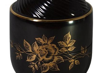 Raven Rose Urn/ Black Lid