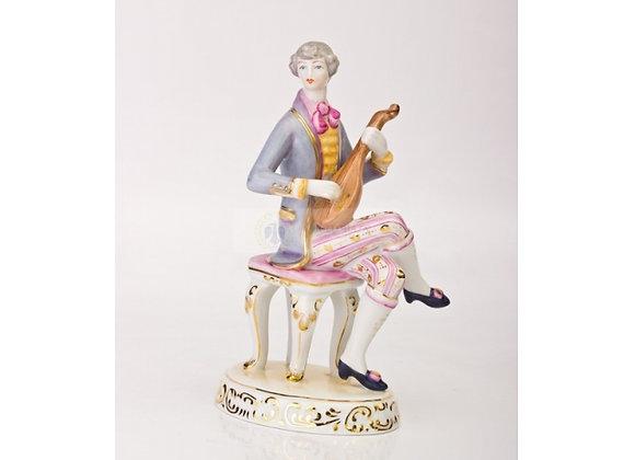 Boy with Lyre Figurine
