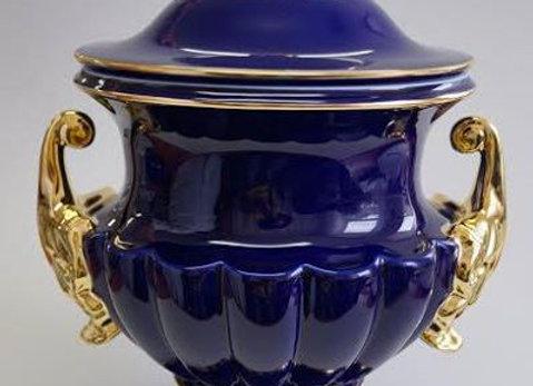 Seraph Cobalt Urn