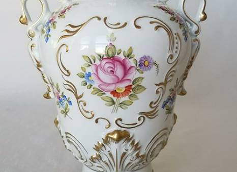 Baroque Moonflower Vase