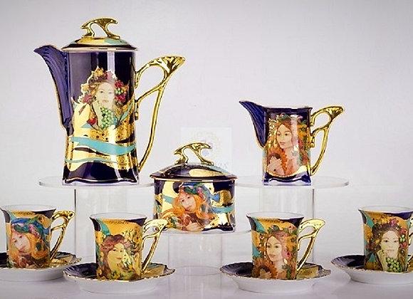 Four Seasons Espresso Set by Farago