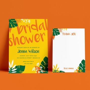 Bridal Shower Set