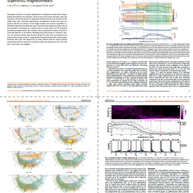 Nature Communications paper on networked aurora mechanisms