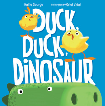 """Mama Duck's equal and unfeigned delight with all three of her hatchlings sits at the story's center, serving as both a worthy model for parents and potential reassurance for sibs unsure of their places in the family pecking order."" -Kirkus"