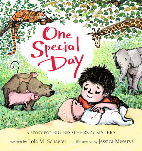 """""""In a market glutted with books for newbie brothers and sisters, this is one that stands apart."""" -Kirkus"""