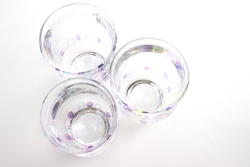 Ring グラス a glass with Rings