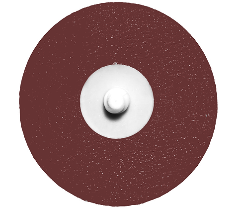 """3"""" x 36 Grit Aluminum Oxide Roloc Disc"""