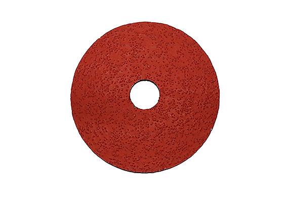 4 1/2 x 7/8 x 60 Grit Ceramic Fiber Disc