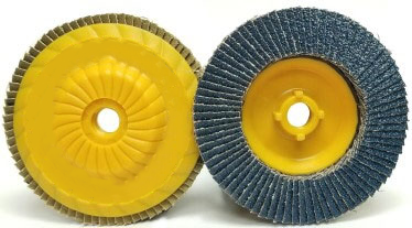 4-1/2 x 5/8 - 11 x 80 Grit Trimmable Flap Disc