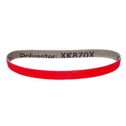"1/2 x 24"" x 40 Grit 870 Ceramic Dynafile Belt"